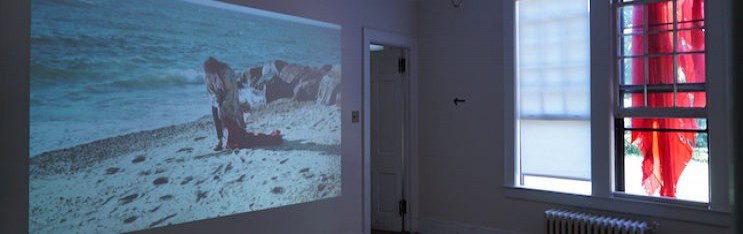 A Body with Water (Video Installation)